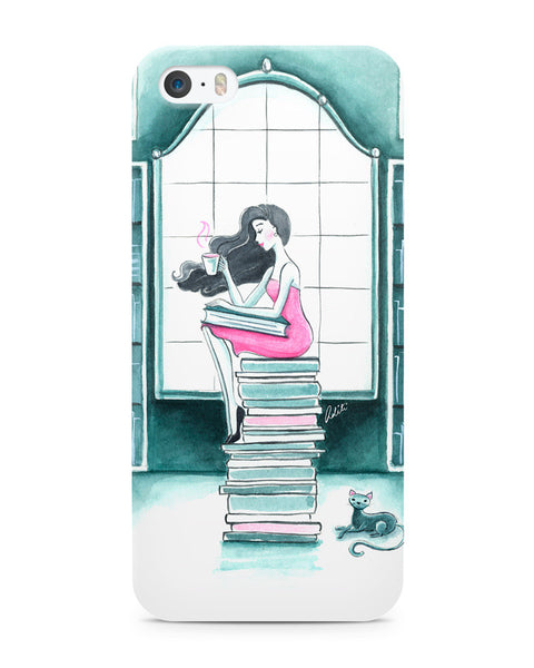 Book Lover iPhone 5/5S Case