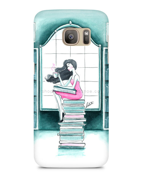 Book Lover Samsung S7 Edge Case