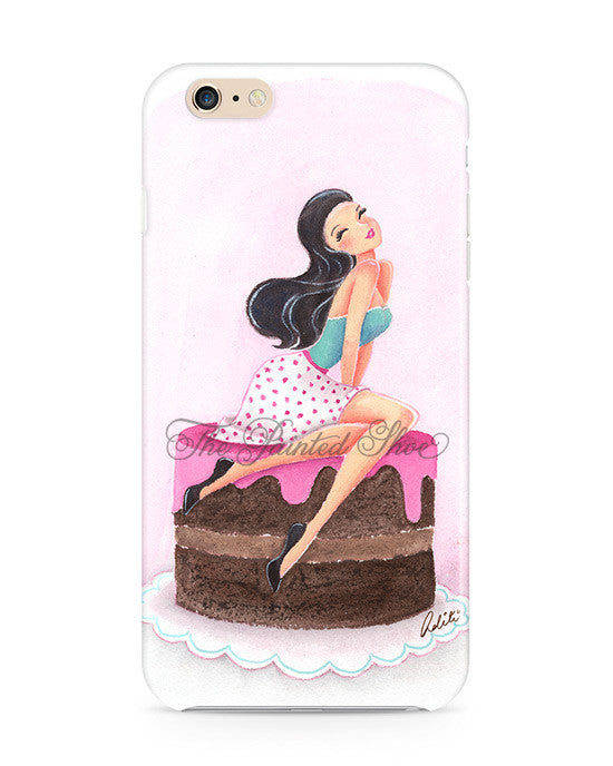 Chocolate Girl iPhone 6/6S Case