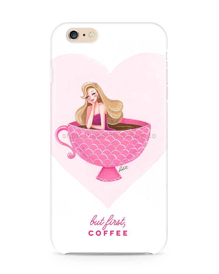 Coffee Lover iPhone 6/6S Case