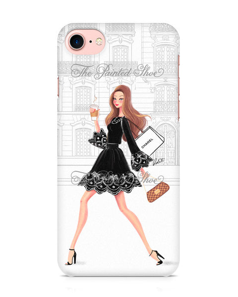 Coffee Run iPhone 7 Case