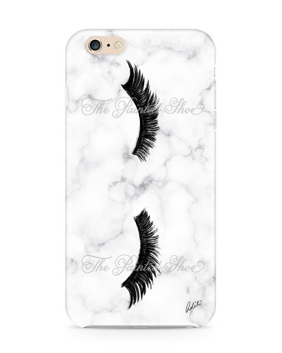 Lashes in Marble iPhone 6/6S Plus Case