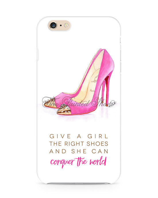 The Pink Shoes iPhone 6/6S Case