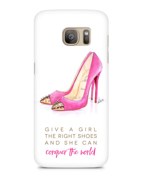 The Pink Shoes Samsung S7 Edge Case