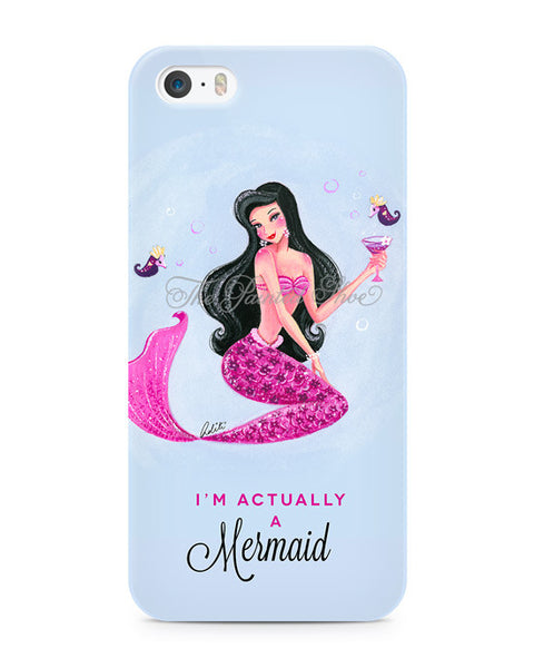 Actually a Mermaid iPhone 5/5S Case