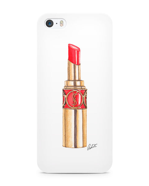 Red YSL Lips iPhone 5/5S Case
