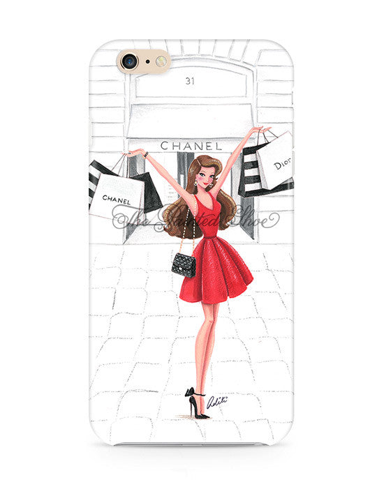 Retail Therapy - Red iPhone 6/6S Plus Case