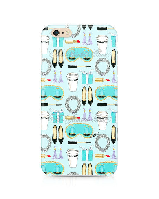 Breakfast at Tiffany's Pattern iPhone 6/6S Plus Case