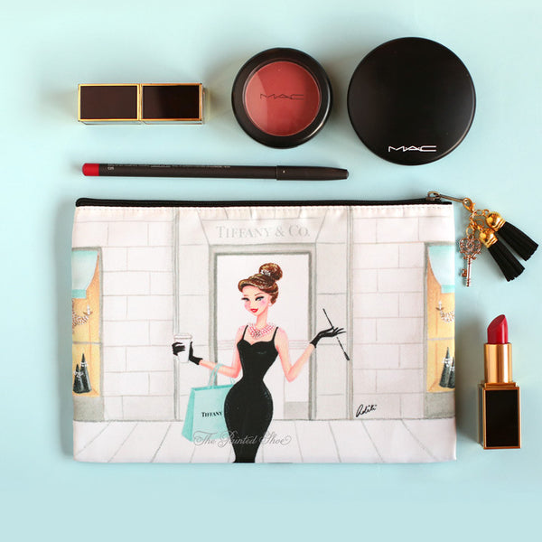 Breakfast at Tiffany's Cosmetic Pouch