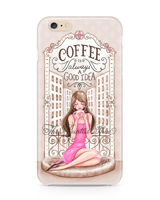 Vintage Coffee Lover iPhone 6/6S Case