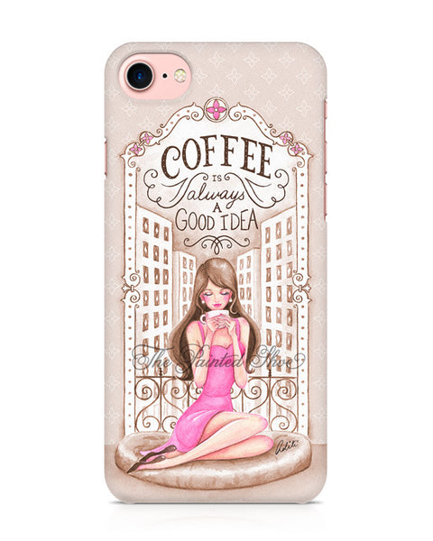 Vintage Coffee iPhone 7 Case