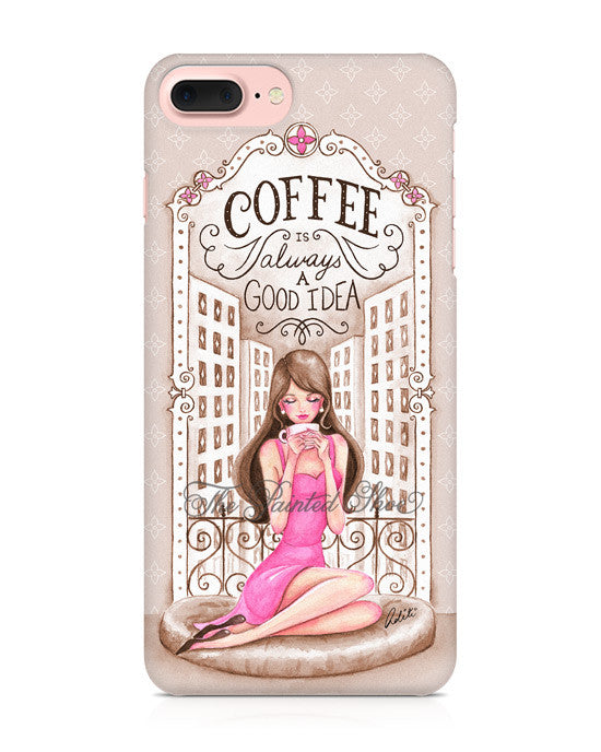 Vintage Coffee iPhone 7 Plus Case