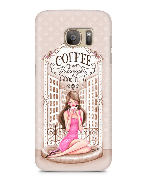 Vintage Coffee Lover Samsung S7 Edge Case
