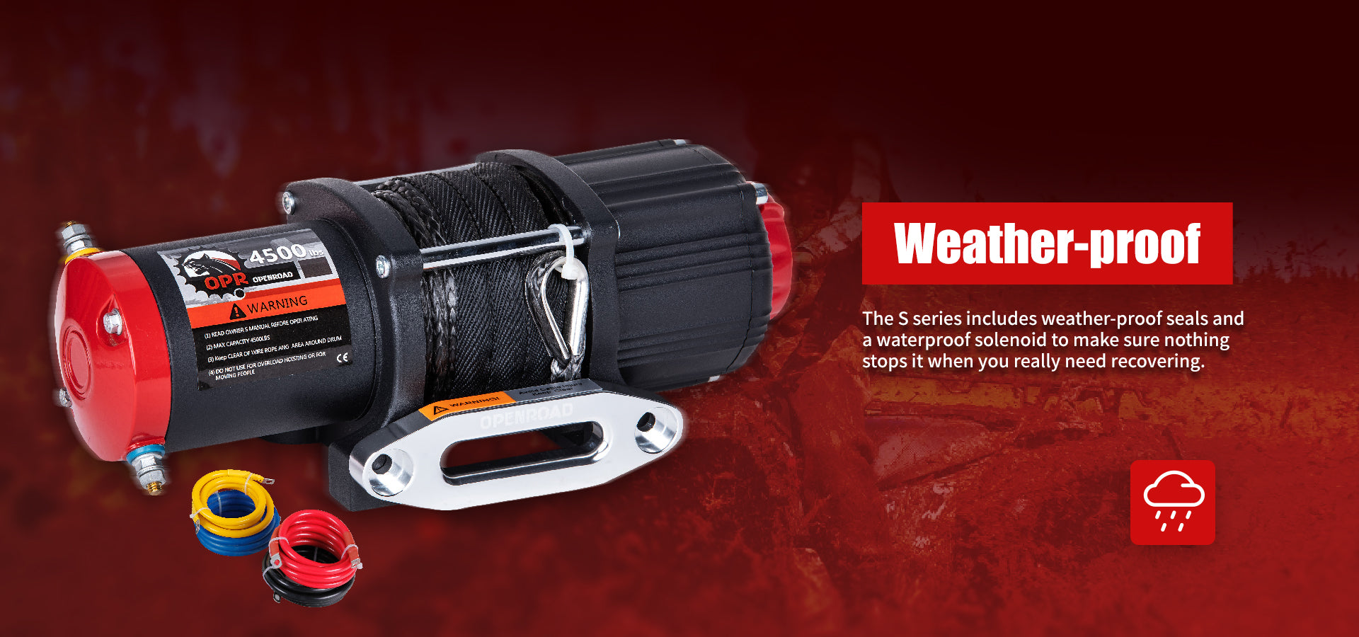 OPENROAD-S-series-4500lb-ATV-Winch-With-Synthetic-Cable