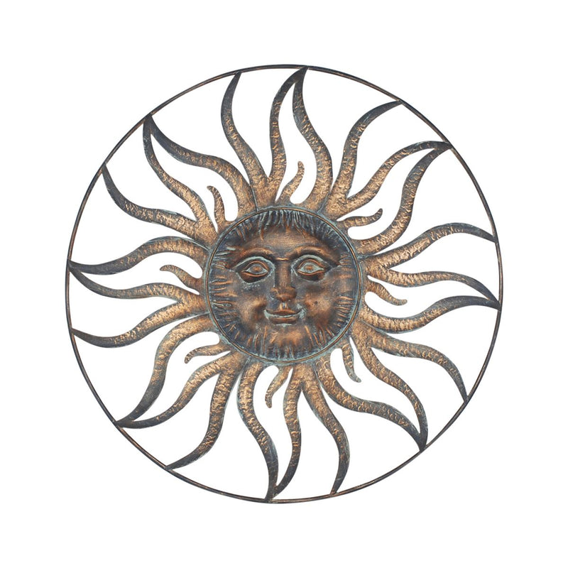 Vintage Sun Wall Decoration - 90 x90 CM