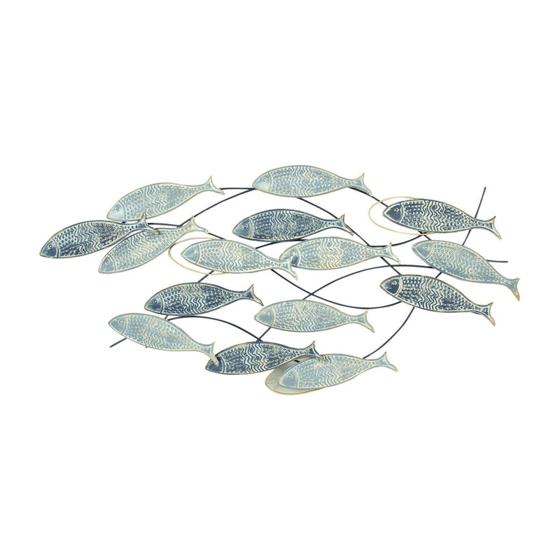 Wall Decoration - Shoal Fish 90 x 44CM