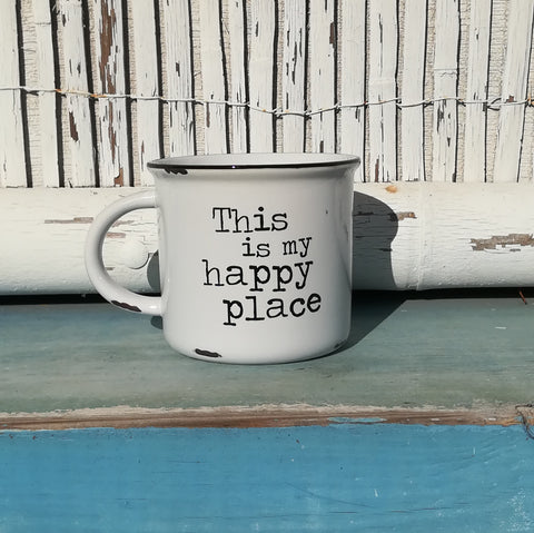 Camp Mug - This Is My Happy Place