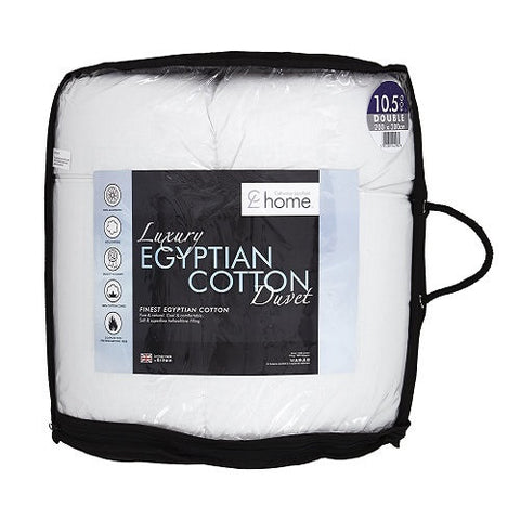 Luxury 10.5 Tog Egyptian Cotton Duvet