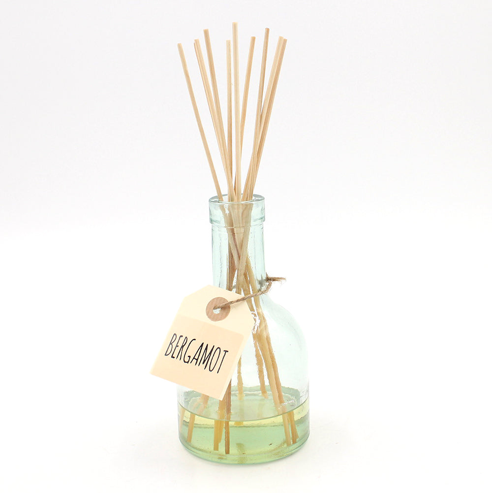 Recycled Glass Diffuser - Bergamot