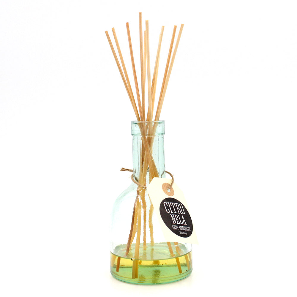 Recycled Glass Diffuser - Citronella
