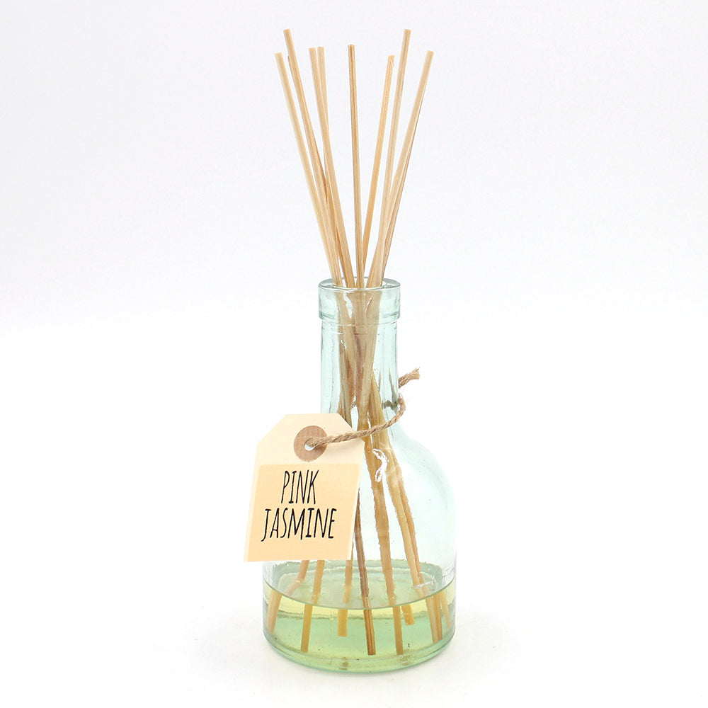 Recycled Glass Diffuser - Pink Jasmine