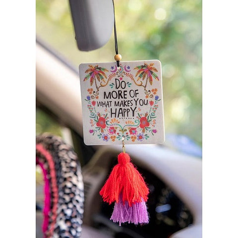 Do What Makes You Happy - Car Air Freshener