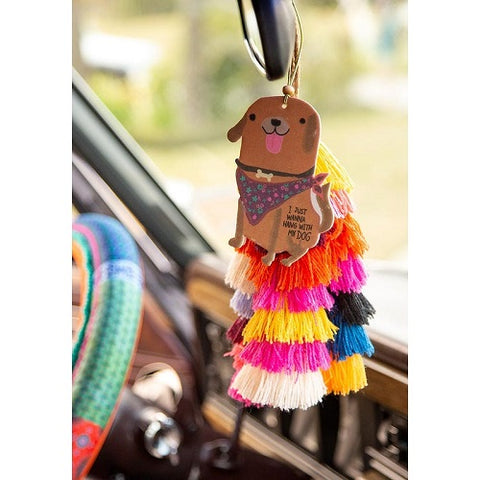 Hang With My Dog - Car Air Freshener