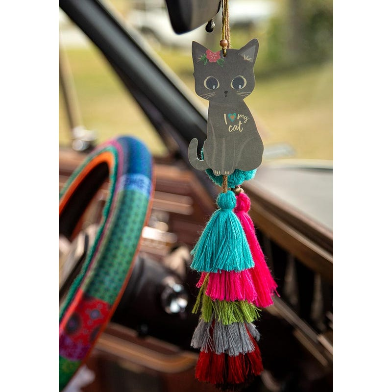 I Heart My Cat - Car Air Freshener