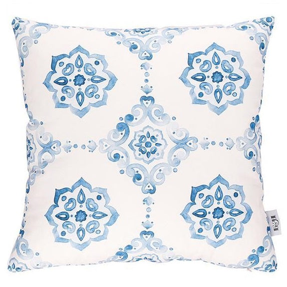 Cushion Cover 45cm Azulejos Blue