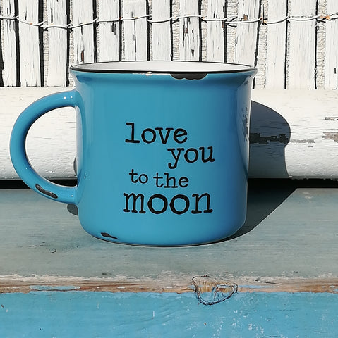 Camp Mug - Love You To The Moon