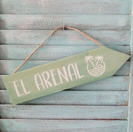 Handmade Wooden El Arenal Arrow