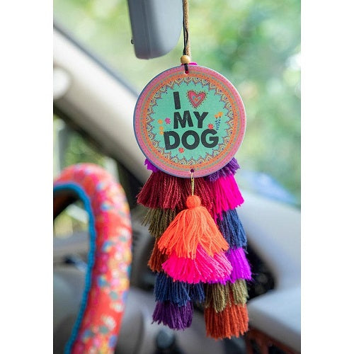 I Heart My Dog - Car Air Freshener