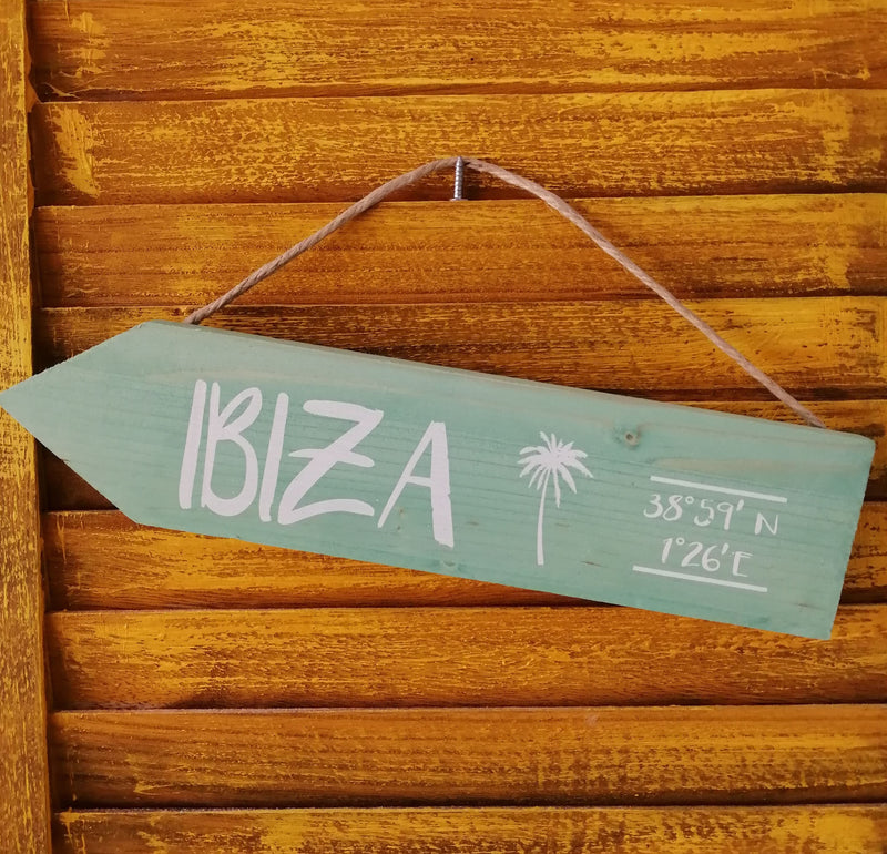 Handmade Wooden Ibiza Arrow