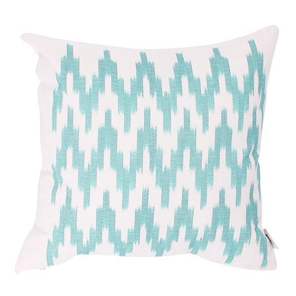 Cushion Cover Ikat - Green 45cm
