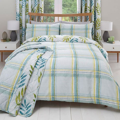 Kew Duvet Cover Set - Teal