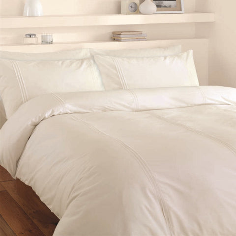 Lisbon Duvet Set - Cream