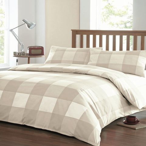 Newquay Duvet Set - Natural