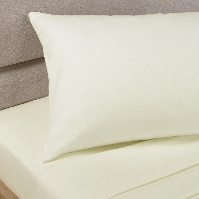 Percale Sheets - Cream180 Thread Count