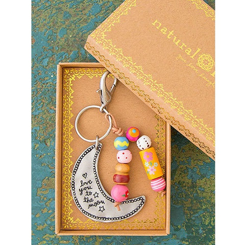 Santa Fe Keychain - Love You To The Moon