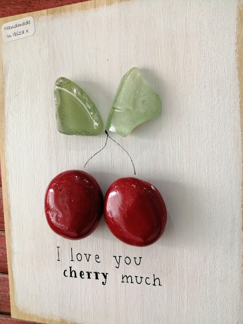 Stone Picture - Love You Cherry Much