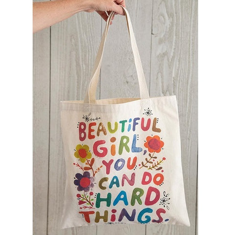 Beautiful Girl - Cotton Tote Bag
