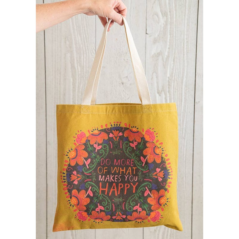 Do More Of What Makes You Happy - Cotton Tote Bag