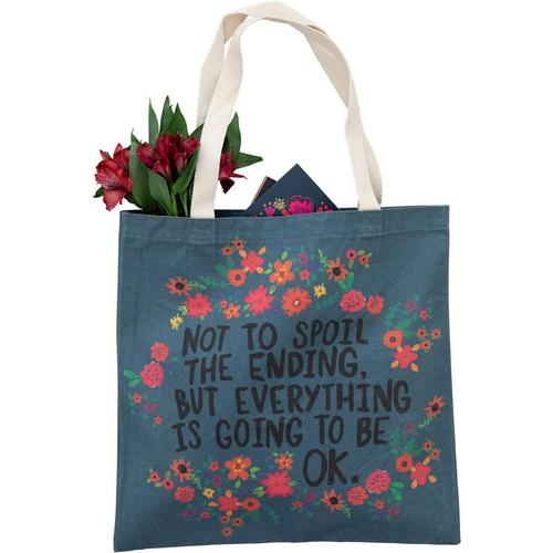 Not To Spoil The Ending - Cotton Tote Bag