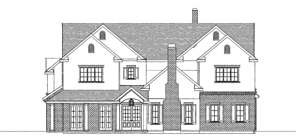 front exterior drawing