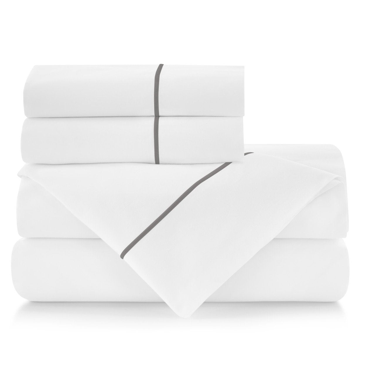 Peacock Alley Boutique Embroidered Percale Sheet Set