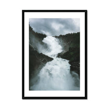 Load image into Gallery viewer, Raging Waterfall - Poster Framed