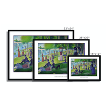 Load image into Gallery viewer, A Sunday Afternoon on the Island of La Grande Jatte - Georges Seurat - Poster