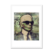 Load image into Gallery viewer, Karl Lagerfeld - Framed Poster