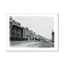 Load image into Gallery viewer, Main Street, Newbridge, Co Kildare 1900 - 1939 - Framed Poster