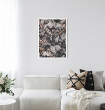 Load image into Gallery viewer, Rustic Leaves - Poster Framed